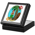 Hula Baby Keepsake Box