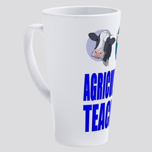 Agriculture Teacher 17 oz Latte Mug