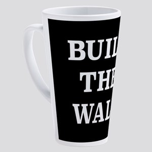 Build The Wall 17 oz Latte Mug