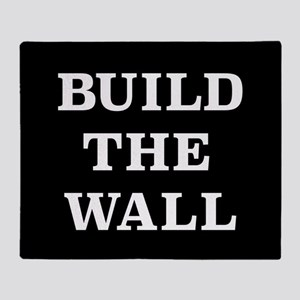 Build The Wall Throw Blanket