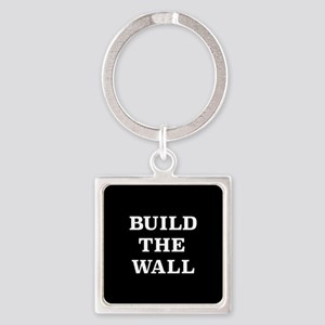 Build The Wall Square Keychain