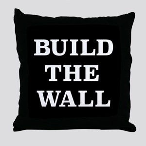 Build The Wall Throw Pillow