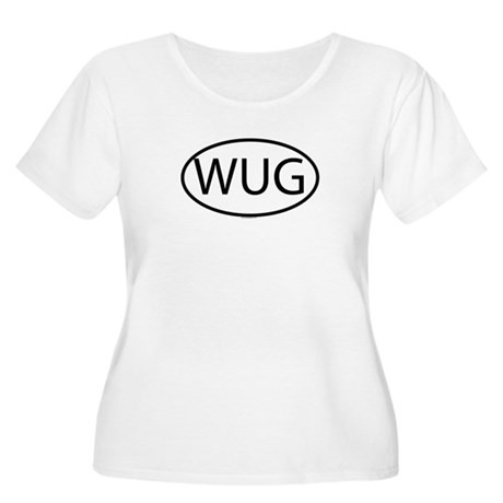 WUG Womens Plus-Size Scoop Neck T