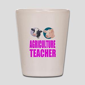 Agriculture Teacher Shot Glass