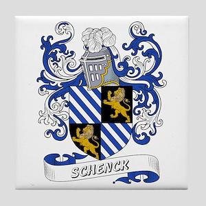 Schenck Coat of Arms Tile Coaster