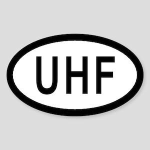 RAF Upper Heyford Euro Style Oval Sticker