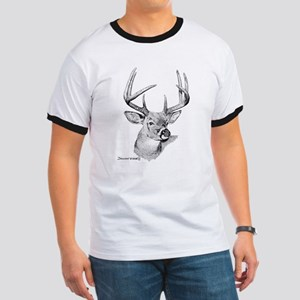 Whitetail Deer Ringer T