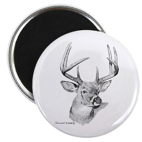 "Whitetail Deer 2.25"" Magnet (100 pack)"