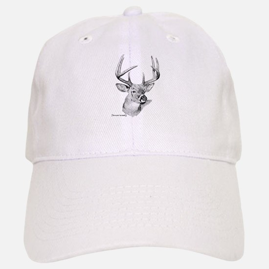 Whitetail Deer Baseball Baseball Cap