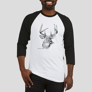 Whitetail Deer Baseball Jersey