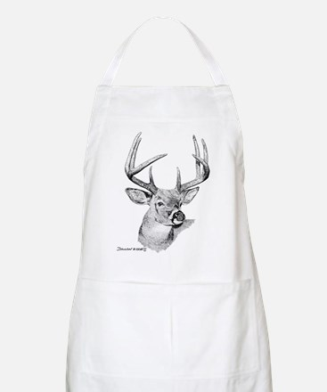 Whitetail Deer BBQ Apron