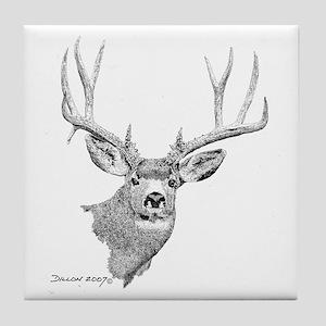 Mule Deer Tile Coaster