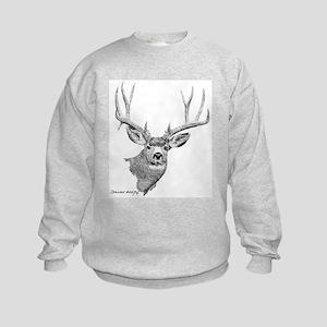 Mule Deer Kids Sweatshirt