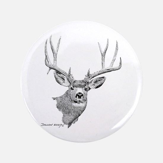 "Mule Deer 3.5"" Button"