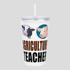 Agriculture Teacher Acrylic Double-wall Tumbler