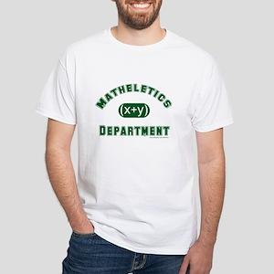 Mathelete White T-Shirt