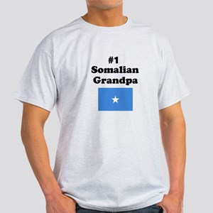 #1 Somalian Grandpa Light T-Shirt
