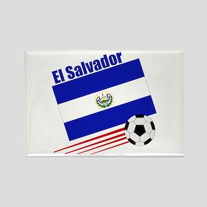 El Salvador Soccer Team Rectangle Magnet (10 pack)