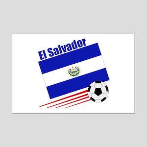 El Salvador Soccer Team Mini Poster Print