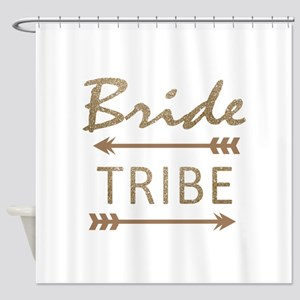tribal arrow bride tribe Shower Curtain