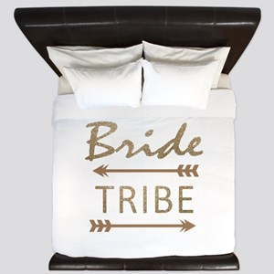 tribal arrow bride tribe King Duvet