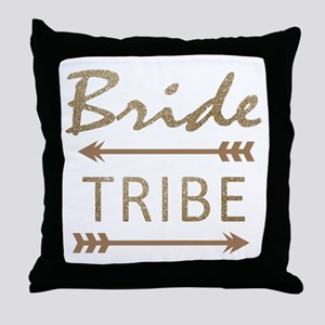 tribal arrow bride tribe Throw Pillow