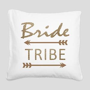 tribal arrow bride tribe Square Canvas Pillow