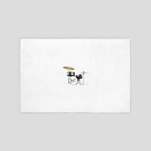 Drum Kit 4' x 6' Rug