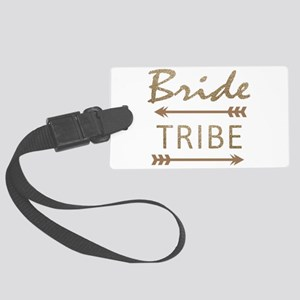 tribal arrow bride tribe Large Luggage Tag