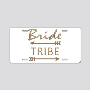 tribal arrow bride tribe Aluminum License Plate