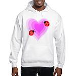 Ladybug Love Hooded Sweatshirt