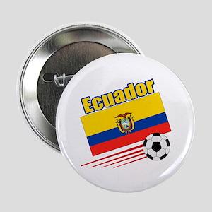 """Ecuador Soccer Team 2.25"""" Button (10 pack)"""