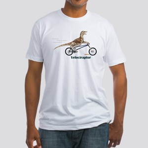Velociraptor Fitted T-Shirt