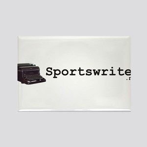 Sportswriter .net Rectangle Magnet