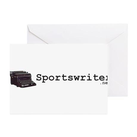 Sportswriter .net Greeting Cards (Pk of 20)