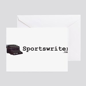 Sportswriter .net Greeting Card