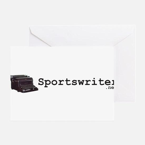 Sportswriter .net Greeting Card