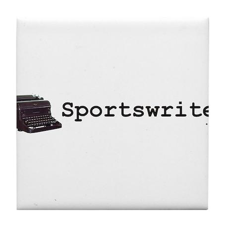Sportswriter .net Tile Coaster