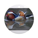 Mandarin Duck Ornament (Round)
