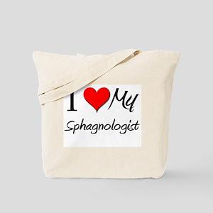 I Heart My Sphagnologist Tote Bag