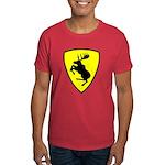 "Prancing Moose Dark T-Shirt, 9"" moose"