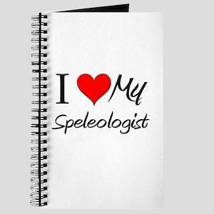 I Heart My Speleologist Journal