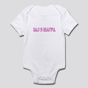 """Bald Is Beautiful"" Infant Bodysuit"