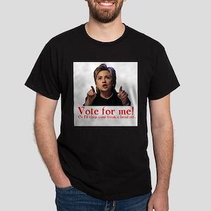Hillary is Crazy Dark T-Shirt