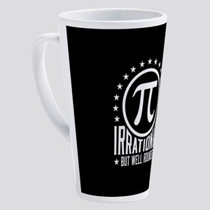 Irrational But Well Rounded 17 oz Latte Mug
