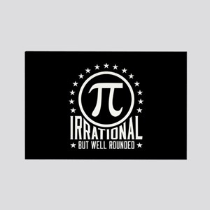 Irrational But Well Rounded Rectangle Magnet