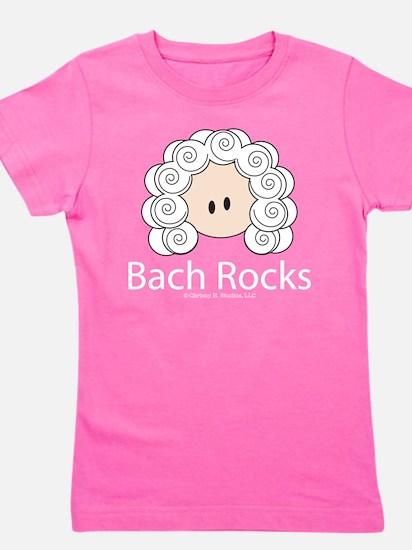 Bach Rocks Bach Women's Dark T-Shirt