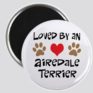 Loved By An Airedale Magnet
