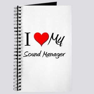 I Heart My Sound Manager Journal