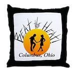 Beat the Heat Throw Pillow